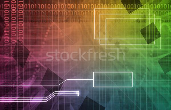 Orvosi technológia interfész szoftver egészség művészet Stock fotó © kentoh