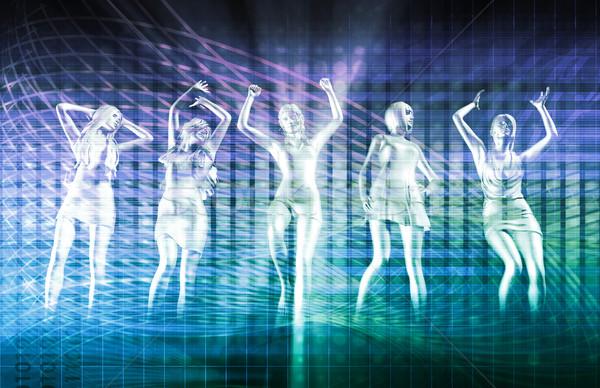 Nightclub Dancers Stock photo © kentoh