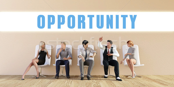 Business Opportunity Stock photo © kentoh