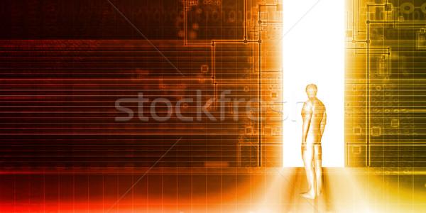 セキュリティ アクセス 制御 ビジネス インターネット 技術 ストックフォト © kentoh