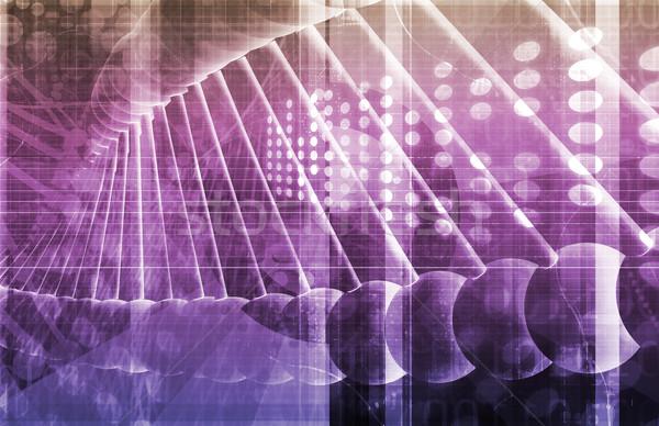 науки атом ячейку структуры медицинской медицина Сток-фото © kentoh