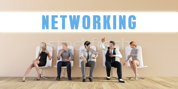 Business Networking Stock photo © kentoh
