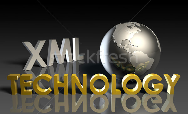 XML Technology Stock photo © kentoh