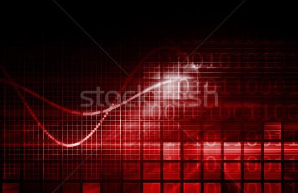 Technology Abstract Stock photo © kentoh