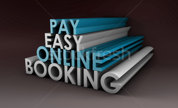 Online Booking Stock photo © kentoh