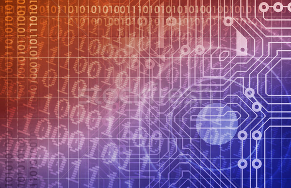 Seguridad red datos web Internet Foto stock © kentoh