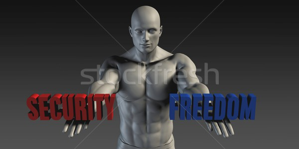 Security or Freedom Stock photo © kentoh
