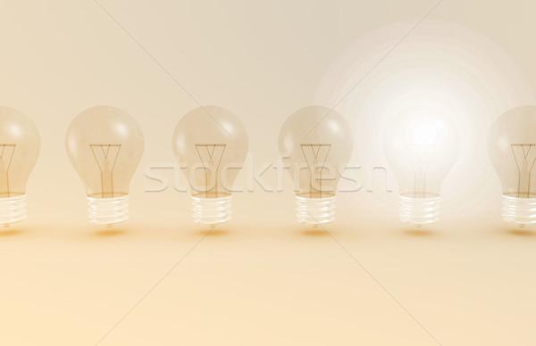 Médicos descubrimiento nuevos idea investigación modelo Foto stock © kentoh