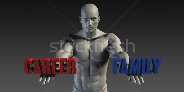 Career or Family Stock photo © kentoh
