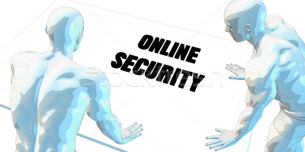 Online Security Stock photo © kentoh