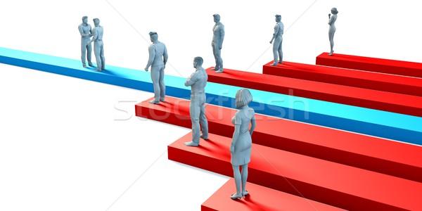 Employment Job Hiring Concept Stock photo © kentoh