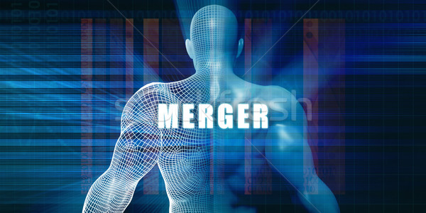 Merger Stock photo © kentoh