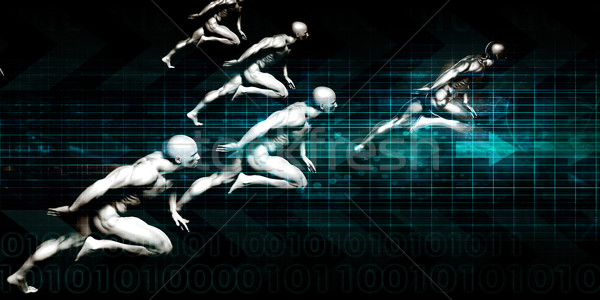 情報 セキュリティ 世界的な データ保護 白 技術 ストックフォト © kentoh
