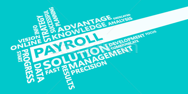 Payroll Presentation Background Stock photo © kentoh