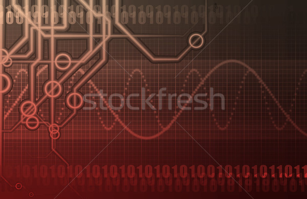Telecommunications Industry Global Network Stock photo © kentoh