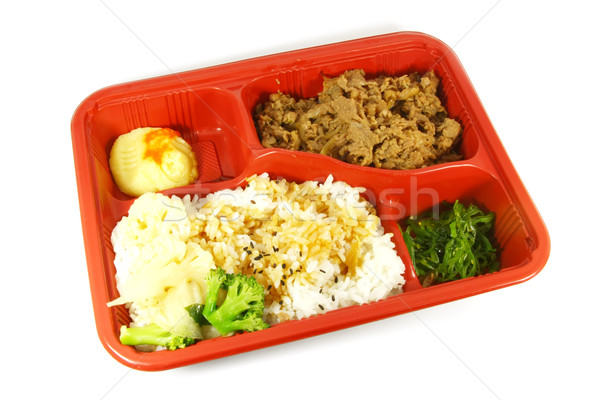 Stock photo: Take Out Food