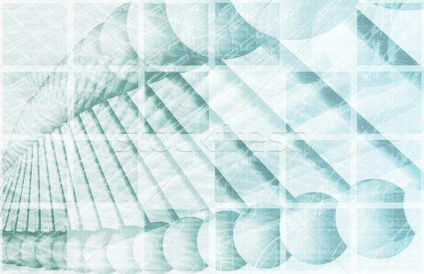 ДНК генетический спираль формула фон науки Сток-фото © kentoh