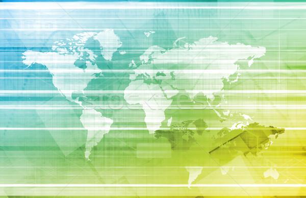 Global Network Stock photo © kentoh