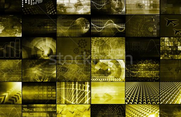 Security Network Stock photo © kentoh