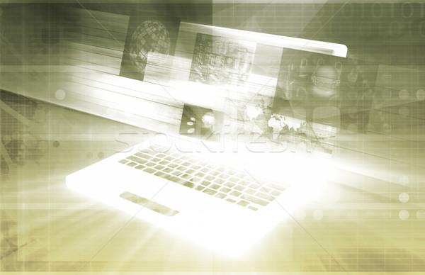 Software sviluppo computer business design tecnologia Foto d'archivio © kentoh