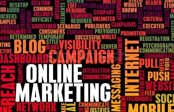 Online Marketing Stock photo © kentoh