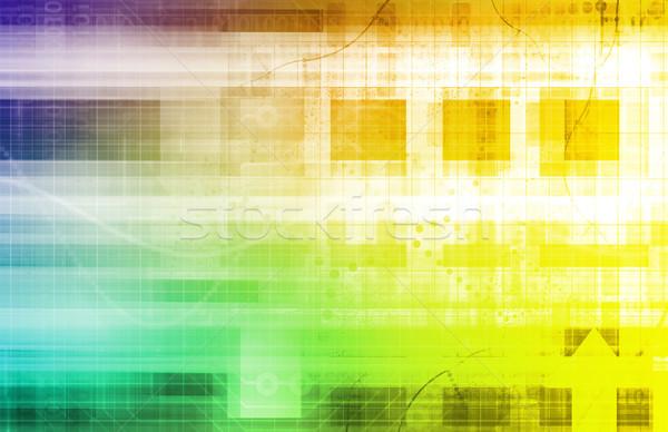 Business Arrow Graph Stock photo © kentoh