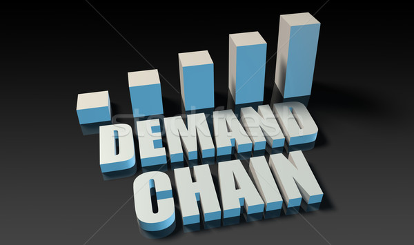 Demand chain Stock photo © kentoh