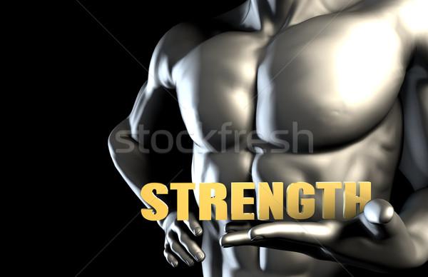 Strenght Stock photo © kentoh