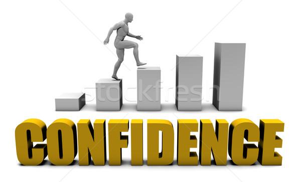 Confiance affaires processus entreprise or Photo stock © kentoh
