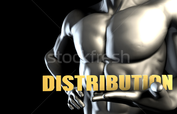 Distribution Stock photo © kentoh
