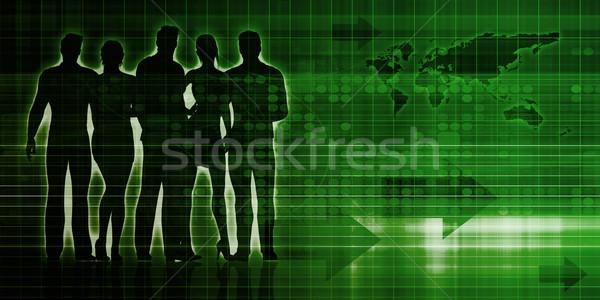 Teamwork Concept Stock photo © kentoh