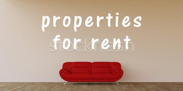 Properties For Rent Stock photo © kentoh