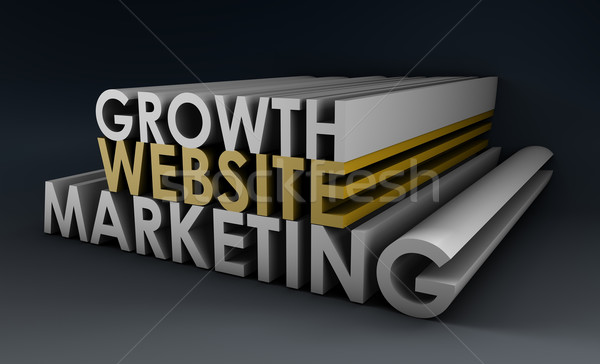 Website Marketing Stock photo © kentoh