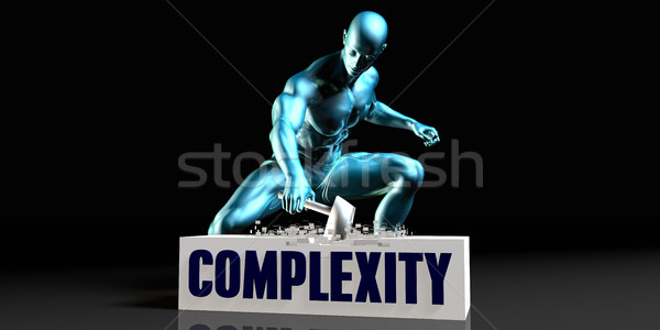 Get Rid of Complexity Stock photo © kentoh