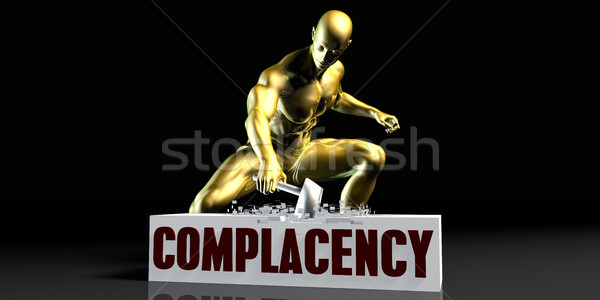 Complacency Stock photo © kentoh