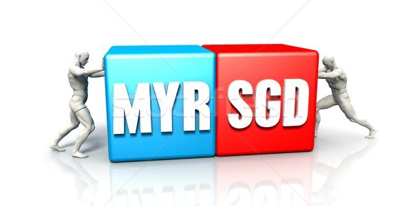 MYR SGD Currency Pair Stock photo © kentoh