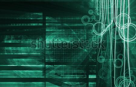 Medical Science Engineering Abstract Stock photo © kentoh