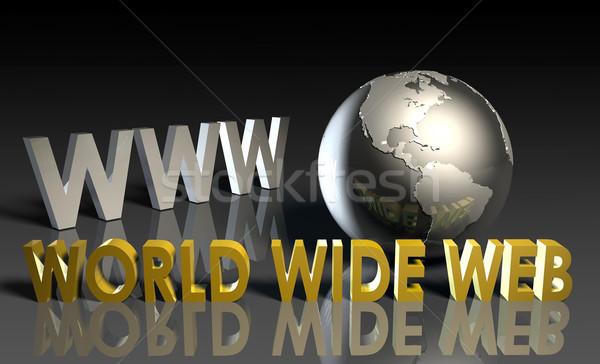 World Wide Web Stock photo © kentoh