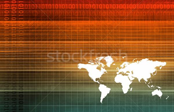 Global Software Stock photo © kentoh