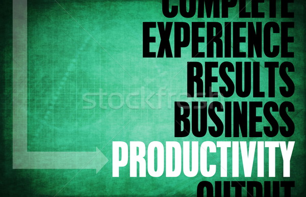 Productivity Stock photo © kentoh