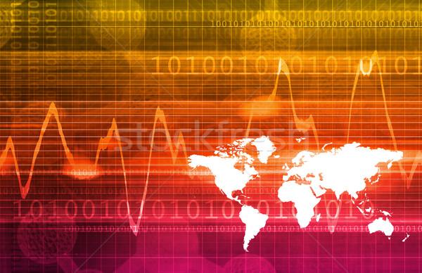 Zdjęcia stock: Obcy · wymiany · forex · Internetu · technologii · banku