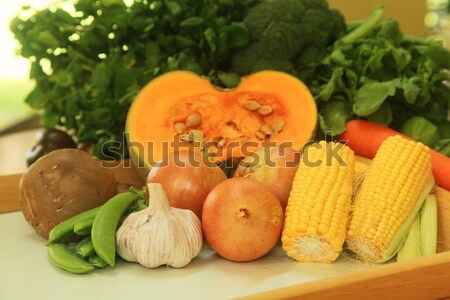 新鮮な 材料 作り出す 料理 セット ストックフォト © kentoh