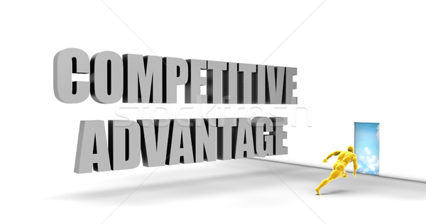 Competitive Advantage Stock photo © kentoh