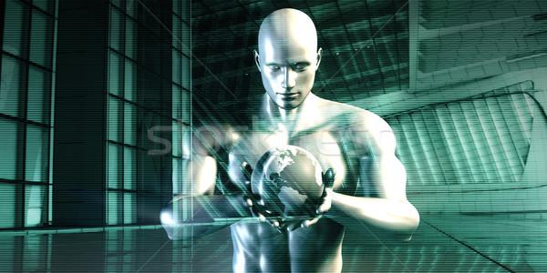 Nurturing Technology Stock photo © kentoh