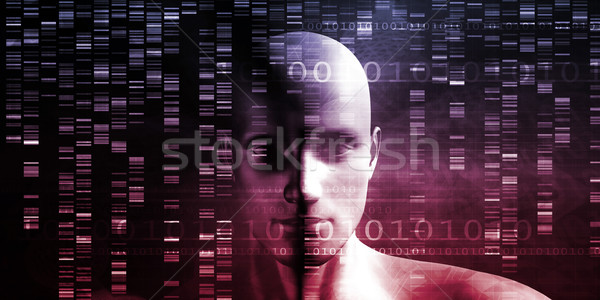 Genome Sequence Stock photo © kentoh