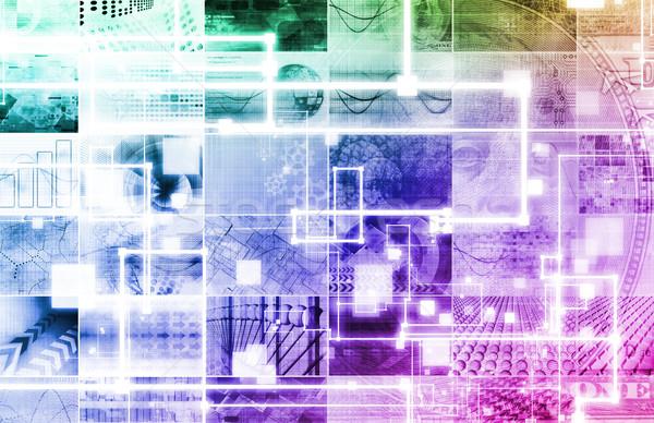 Innovatieve technologie smart software toekomst internet Stockfoto © kentoh