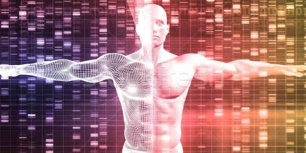 Médicaux recherche affaires fond médecine industrie Photo stock © kentoh