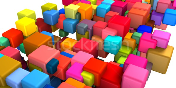 Blockchain Technology Stock photo © kentoh