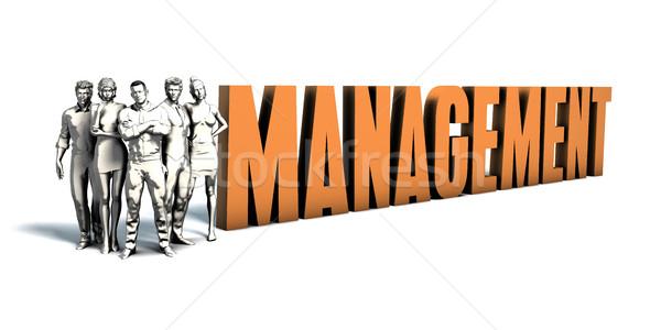 деловые люди управления искусства команда бизнеса Сток-фото © kentoh