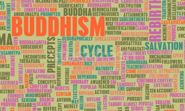 仏教 宗教 生活 祈り 歴史 ストックフォト © kentoh